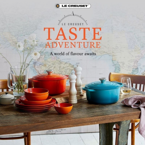 Le Creuset - Taste the World