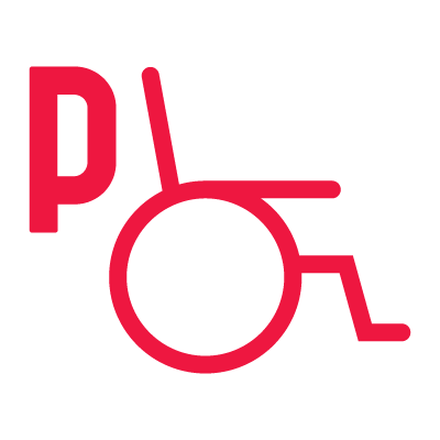 Car parking spaces for the disabled